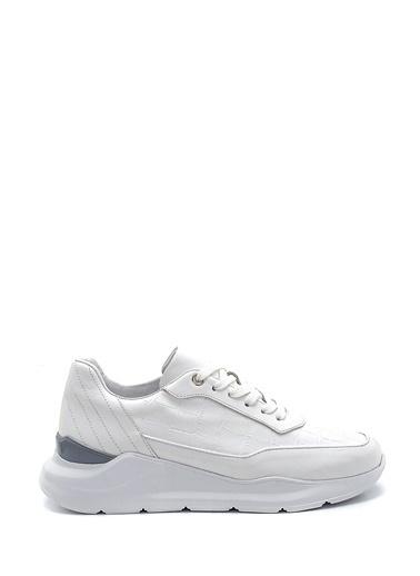 Derimod Erkek Ayakkabı(240-01) Sneaker Beyaz